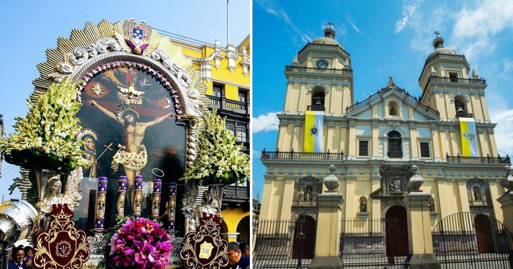 Señor de los Milagros visitará Iglesia de San Pedro