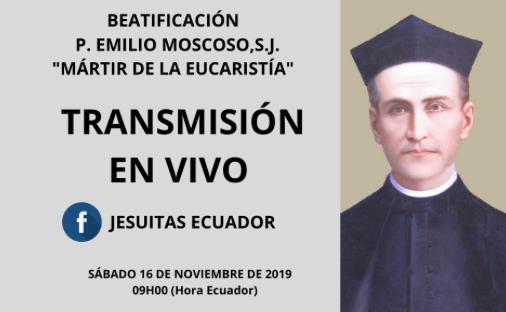 Beatificación del P. Emilio Moscoso, SJ