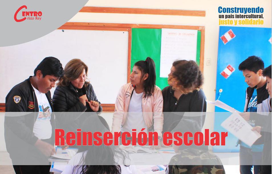 Centro Cristo Rey: Programa de Reinserción Escolar
