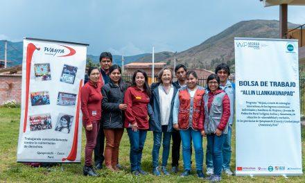 Asociación Wayra trabaja por inserción laboral de jóvenes en Quispicanchi