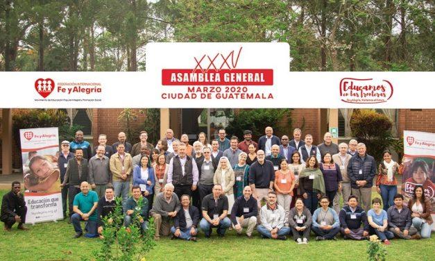 35° Asamblea General de Fe y Alegría se realizó en Guatemala