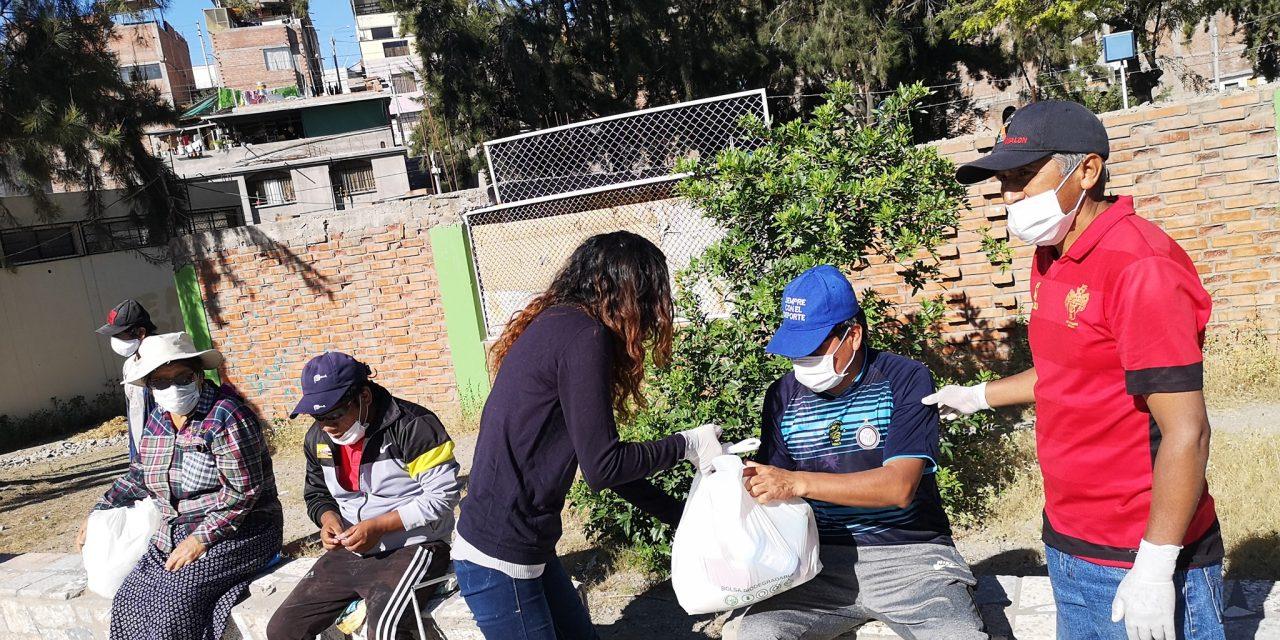 """Plataforma Jesuita Arequipa realizó campaña """"Seamos las manos de Dios"""""""