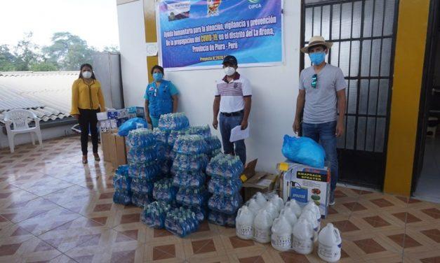 CIPCA: entrega de ayuda humanitaria en La Arena