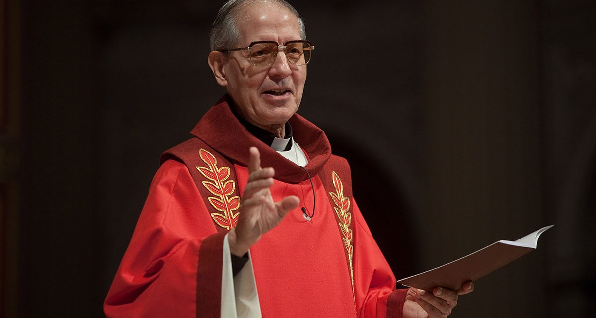 P. Adolfo Nicolás SJ, anterior Superior General, partió a la Casa del Padre