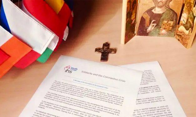 """Covid 19: Jesuitas de Europa piden solidaridad a la UE y no volver a la """"vieja normalidad"""""""