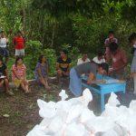 Centro social jesuita de Nieva entrega ayuda a comunidades nativas más vulnerables