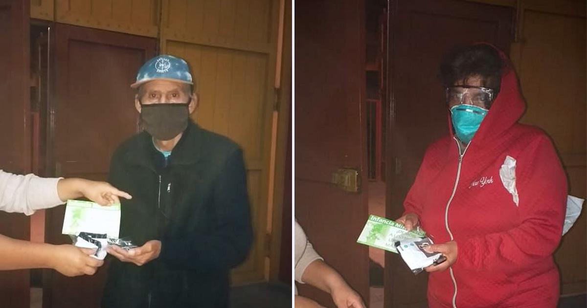 Parroquia jesuita de El Agustino entrega ayuda a los más vulnerables