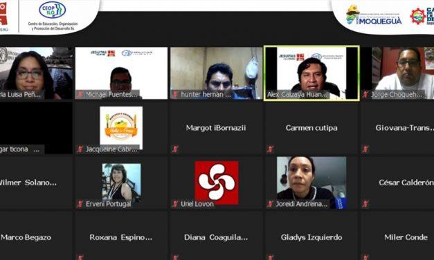 CEOP Ilo: exitoso webinar de Gestión de Clientes