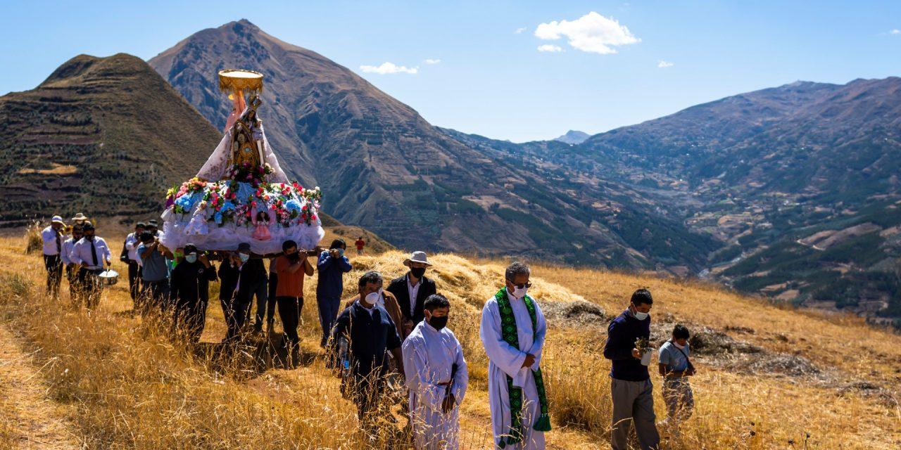 Fiesta de la Virgen del Carmen en Huaro (Quispicanchi)