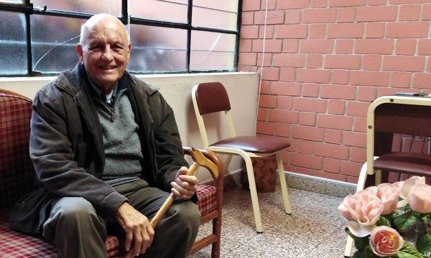 P. Jorge Álvarez-Calderón, en la Casa del Padre
