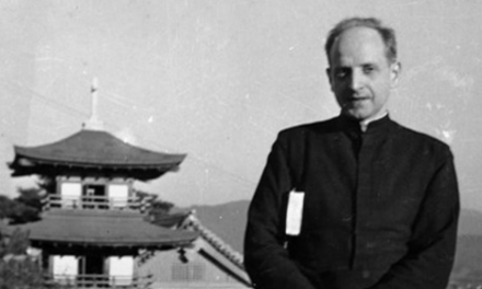 El Padre Arrupe en Hiroshima