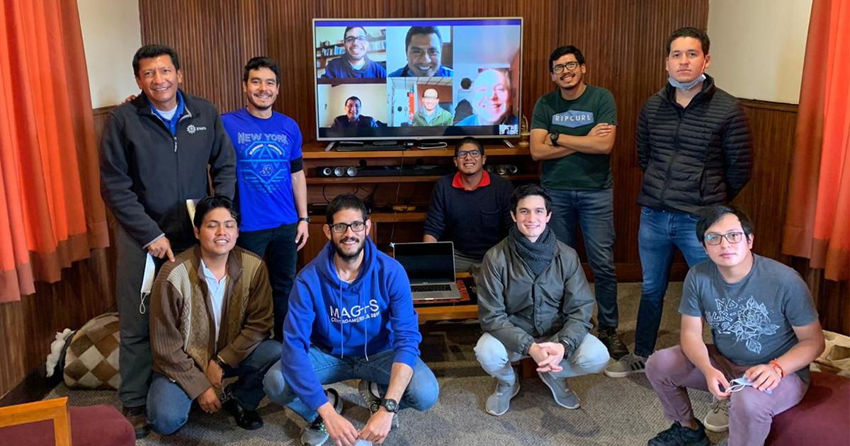 Superior Provincial realizó visita virtual al Noviciado Jesuita de Quito (Ecuador)