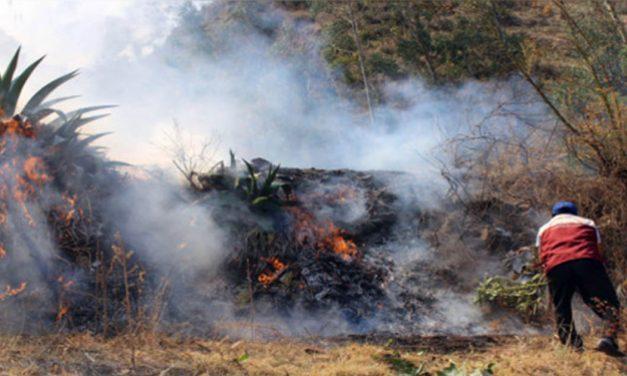 Campaña solidaria por víctimas de incendio forestal en Quispicanchi