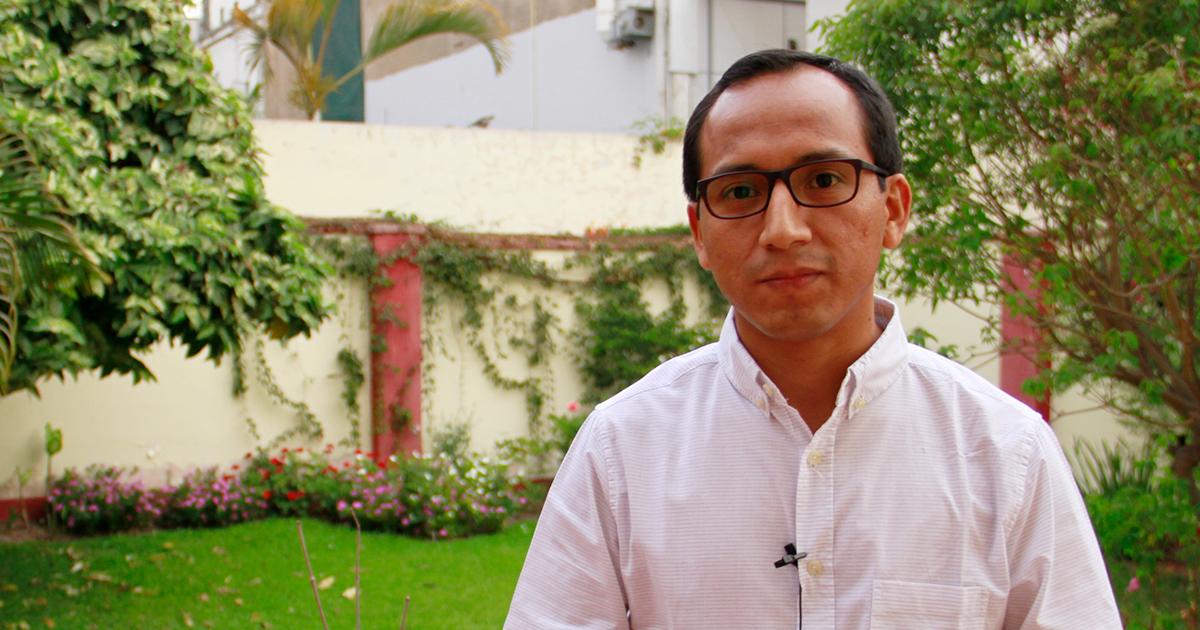 P. Deyvi Astudillo SJ, nuevo Delegado de Formación de los Jesuitas del Perú