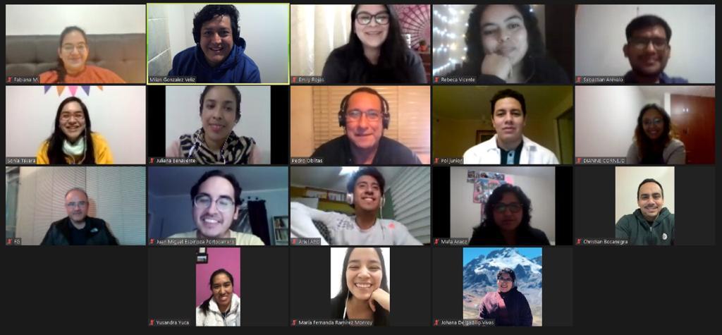 Jóvenes ignacianos del Perú vivieron Ejercicios Espirituales online