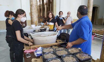 La Compañía de Jesús en Beirut a mes y medio de la explosión