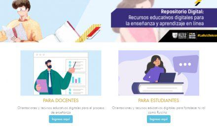 La Ruiz presenta primer repositorio digital para educación en línea