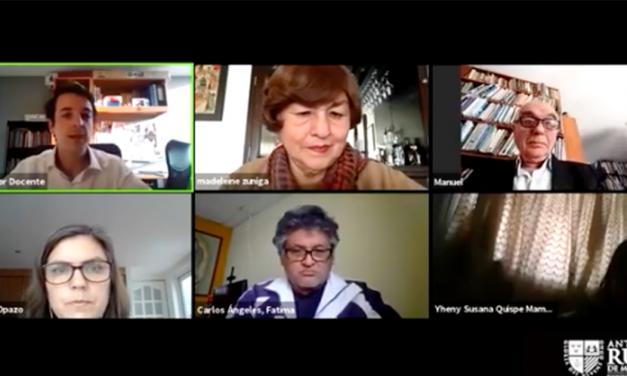 La Ruiz: conversatorio internacional sobre desafíos de la educación en pandemia