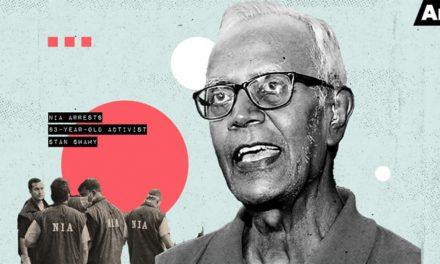 Solidaridad con el P. Stan Swamy, jesuita arrestado en la India