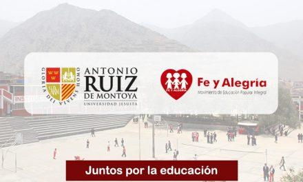 Fe y Alegría y La Ruiz, juntos por la educación