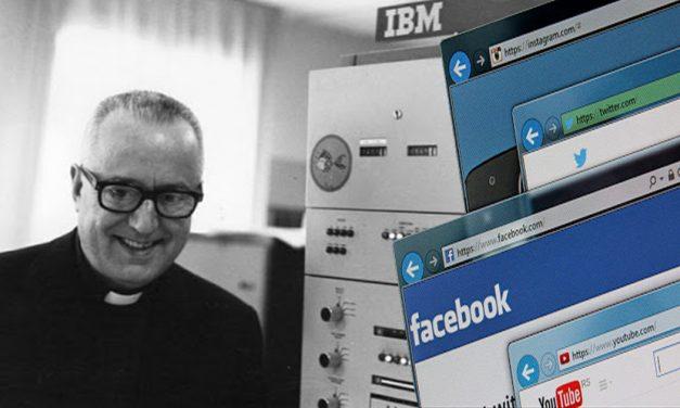 Roberto Busa, el jesuita al que debemos el hipertexto