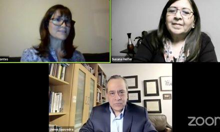 CONSIGNA organizó conversatorio con Jaime Saavedra