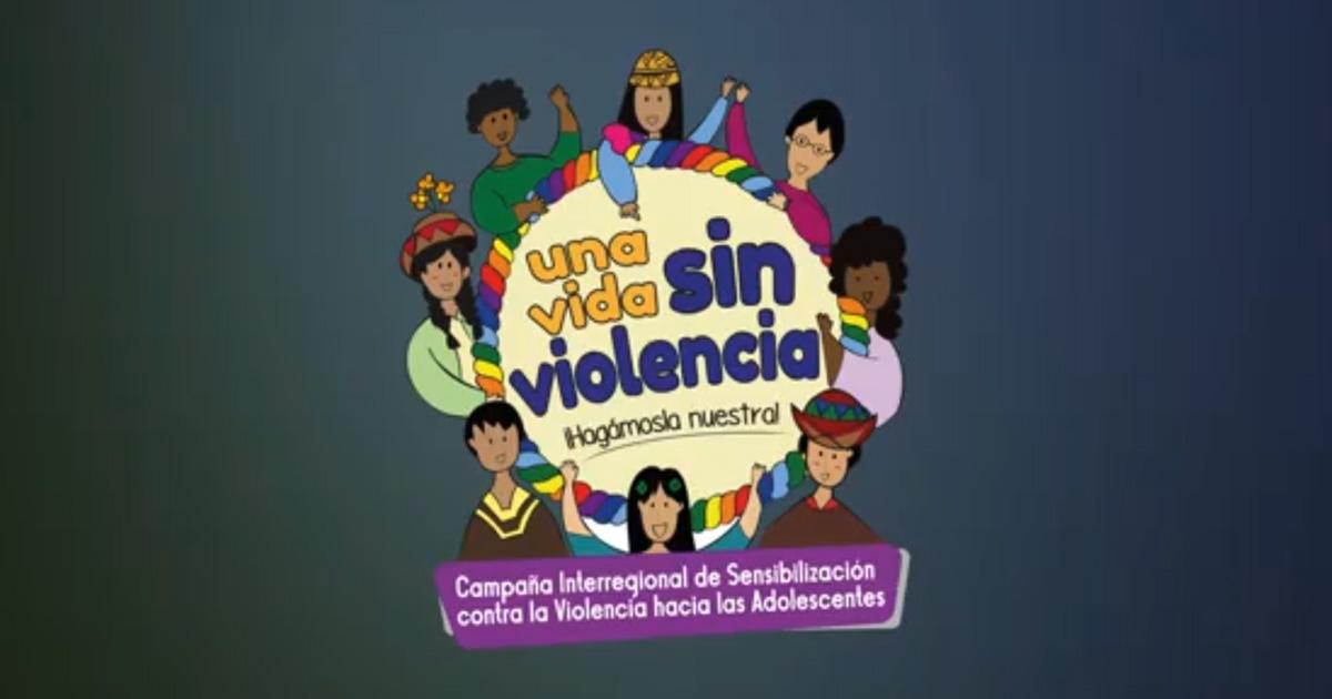 """Campaña interregional de ENCUENTROS """"Una vida sin violencia"""""""