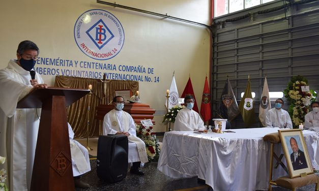 Homilía de celebración por la vida del Hno. César Patiño, SJ