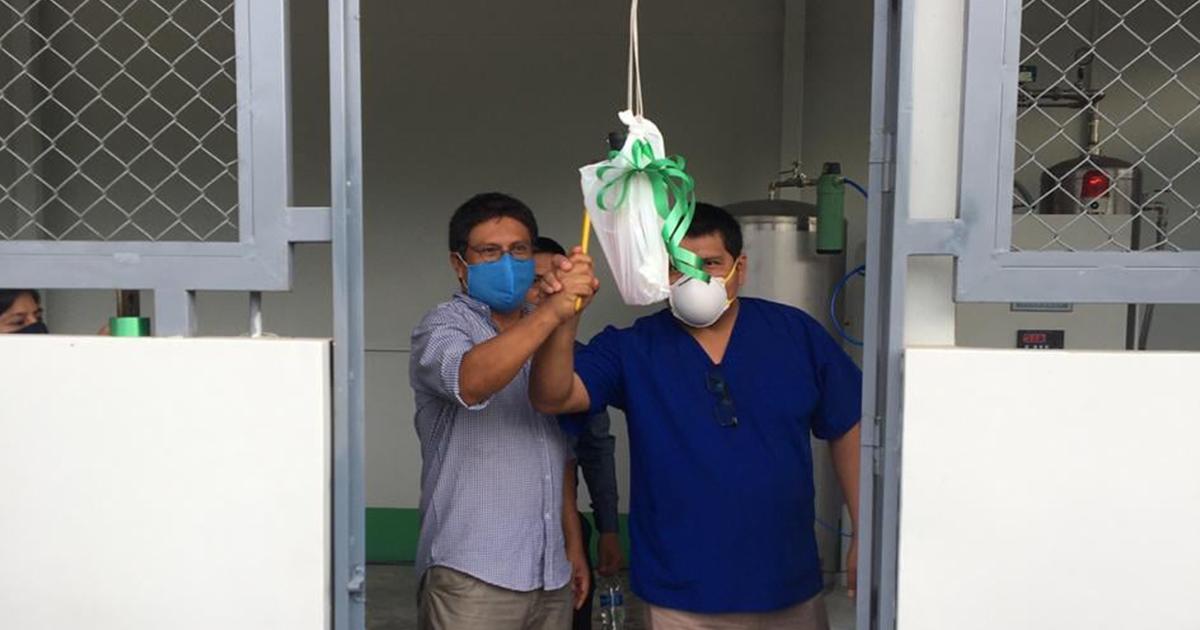 Se inauguró planta de oxígeno para Nieva (Amazonas)
