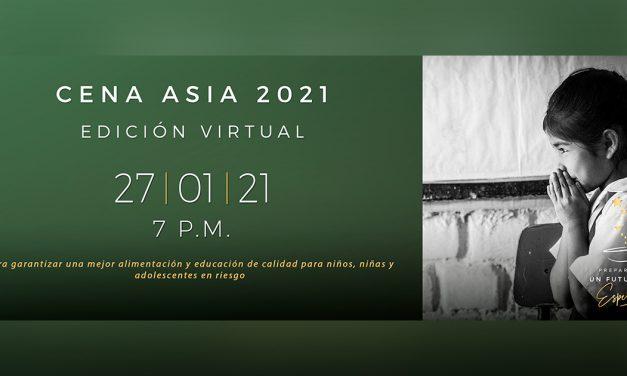 Misión Jesuita: XI Cena Asia