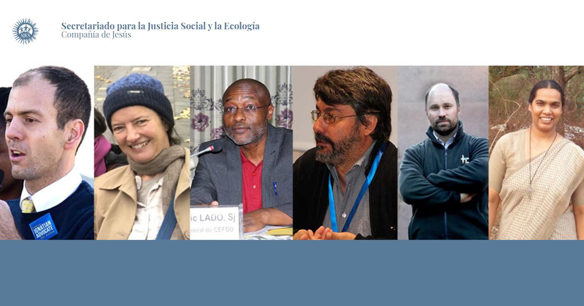 Nuevo consejo asesor del Secretariado Jesuita de Justicia Social y Ecología (SJES)