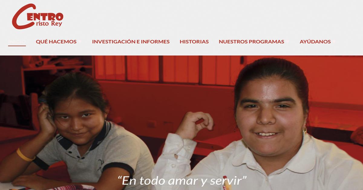 Nueva web del Centro Cristo Rey