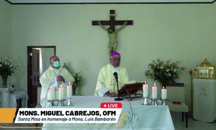 Misa por el primer mes del fallecimiento de Mons. Luis Bambarén