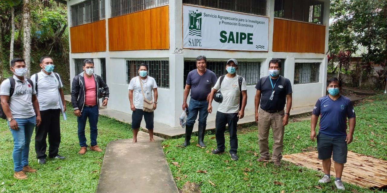 SAIPE y Red Comparte organizaron taller de agroecología