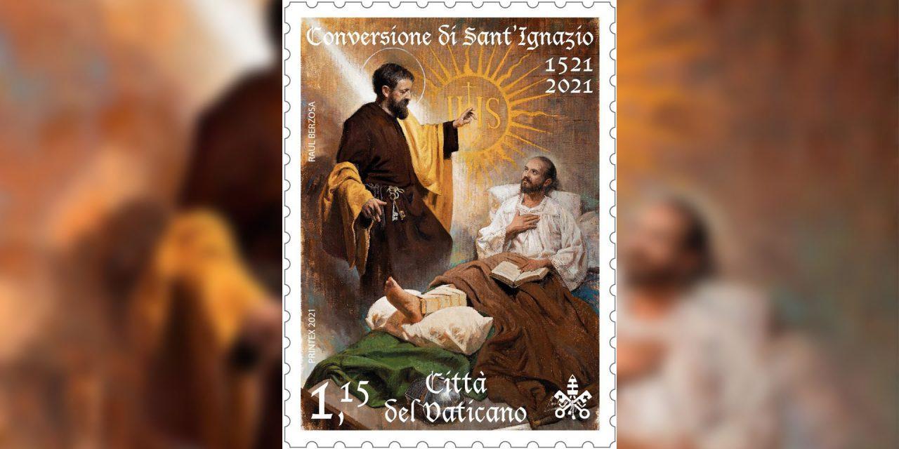 Vaticano emite sello postal por V Centenario de la Conversión de San Ignacio