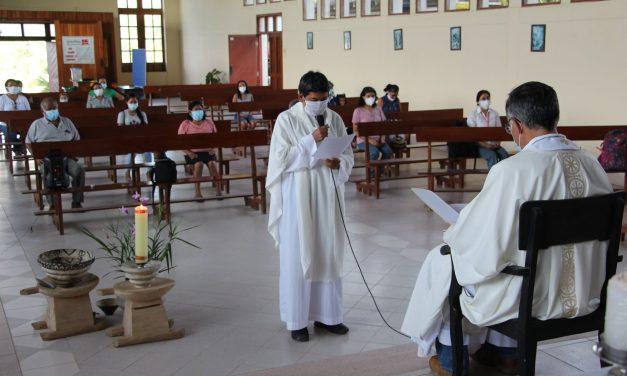 P. Aníbal Oyola, nuevo párroco en Santa María de Nieva