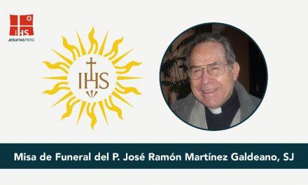 P. José Ramón Martínez Galdeano SJ, en la Casa del Padre