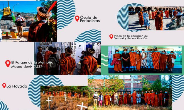 Centro Loyola acompañó a estudiantes AshaninKa en su visita a la ciudad de Ayacucho