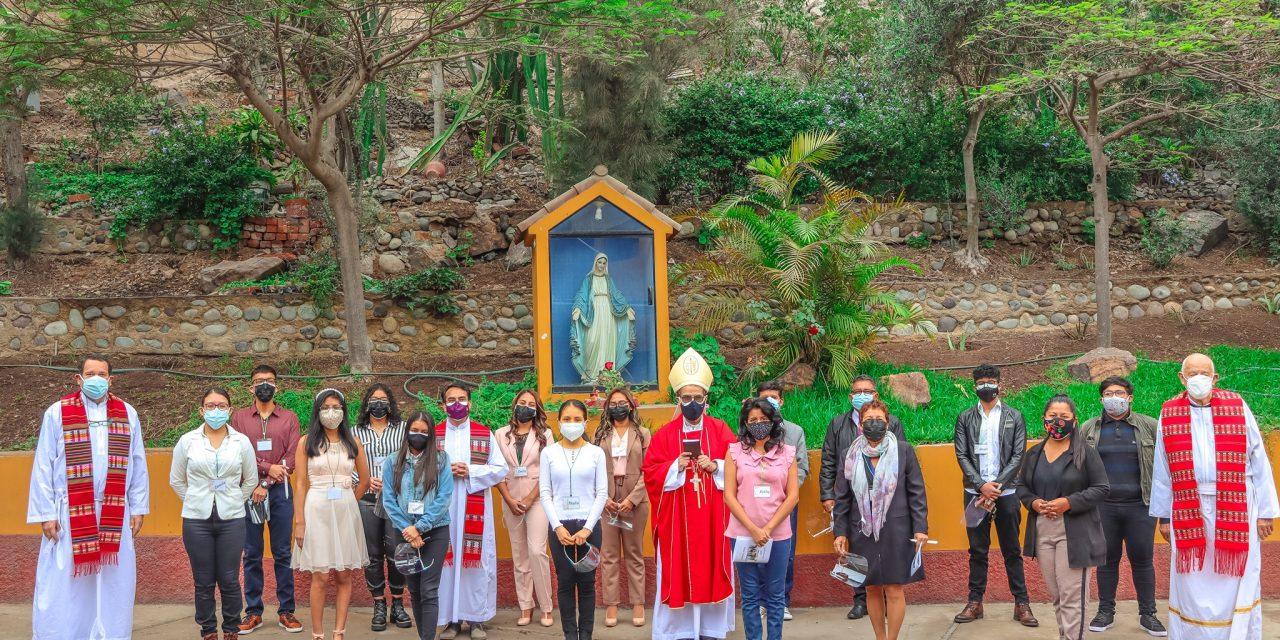Jóvenes de El Agustino realizaron sacramento de Confirmación
