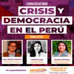"""ESEJOVEN organizóconversatorio """"Crisis y democracia en el Perú"""""""