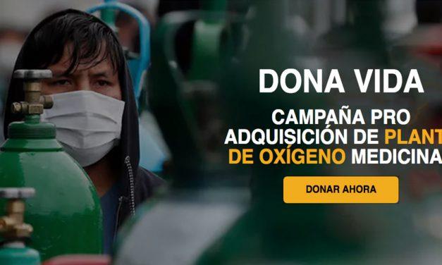 Campaña solidaria busca crear una nueva planta de oxígeno en Piura