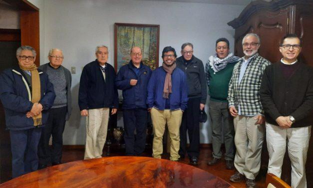 Superior Provincial visitó la Casa y Parroquia San Pedro