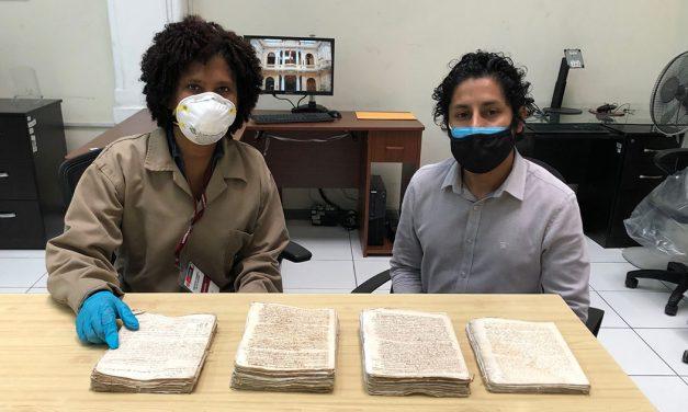 Recuperación del Patrimonio documental jesuita en el Archivo General de la Nación