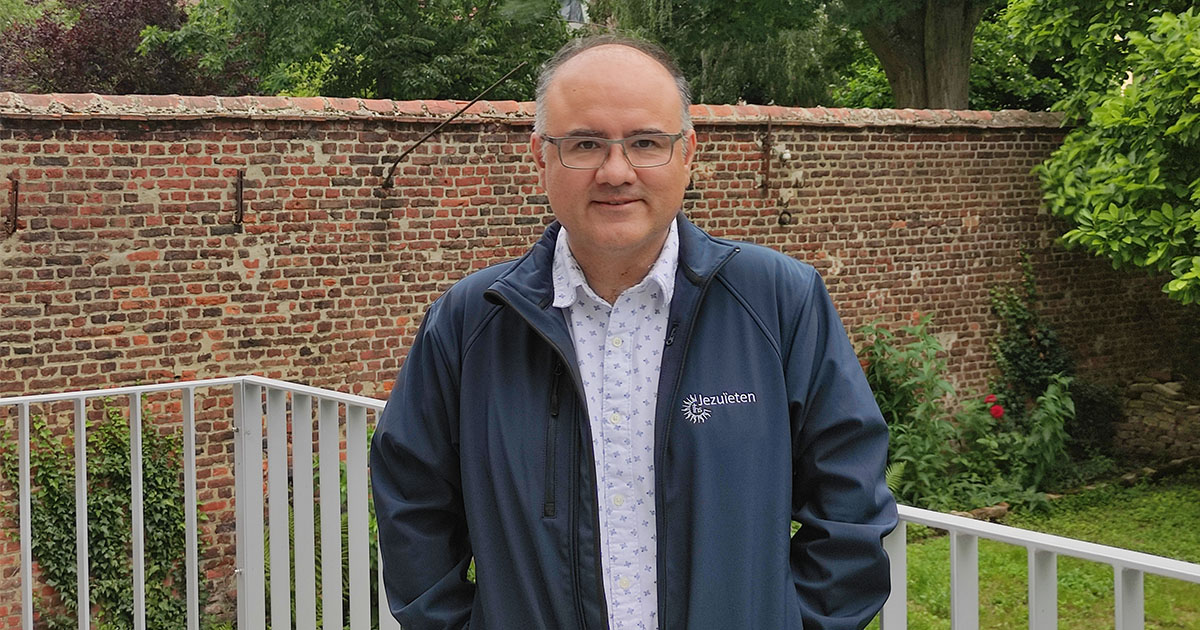 Frank Gutierrez Blas SJ será ordenado sacerdote