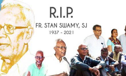 P. Stan Swamy SJ en la Casa del Padre