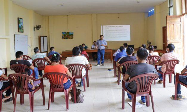 SAIPE brindó taller a defensores de Derechos Humanos de los pueblos indígenas