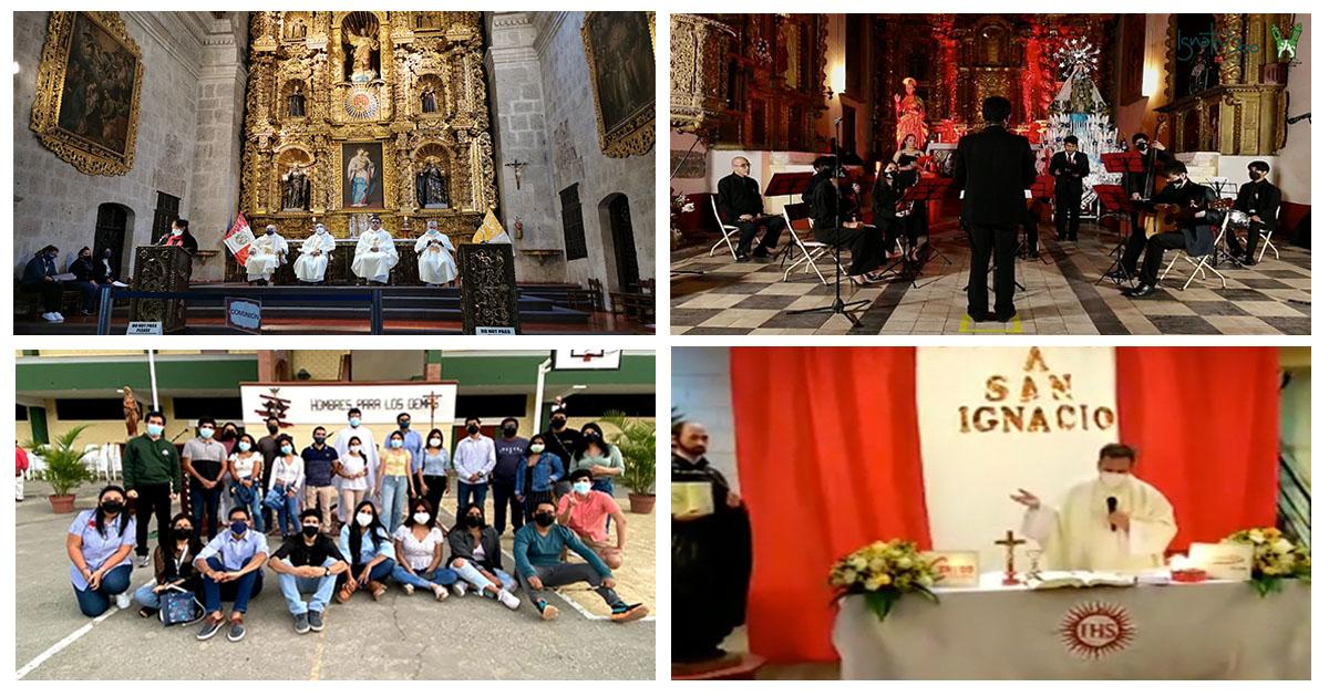 Así se celebró a San Ignacio en nuestras Plataformas Regionales