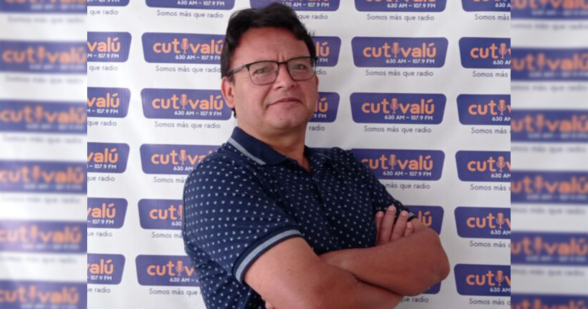 Nuevo director en Radio Cutivalú