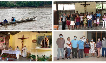 Superior Provincial visitó la Coordinación Apostólica del Alto Marañón