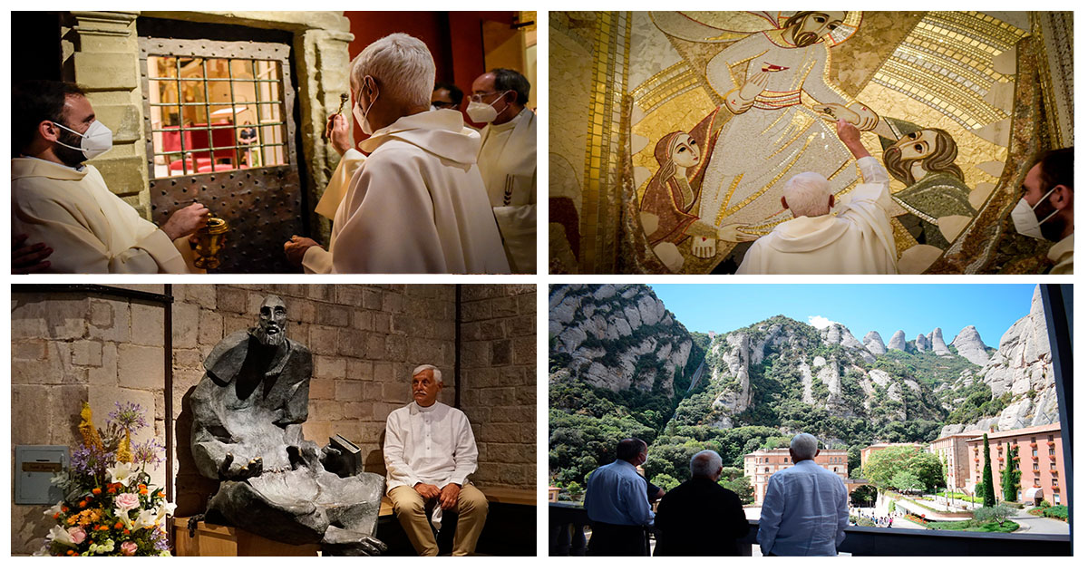 P. General celebró a San Ignacio en Barcelona, Manresa y Montserrat